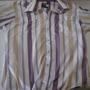 Vintage Wrangler Western Short-sleeve Button Down